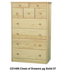 [34 Inch] Sierra 9 Drawer Chest v2