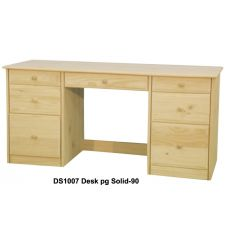 [63 Inch] Sierra 7 Drawer Desk