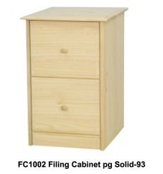 [20 Inch] Sierra 2 Drawer File Cabinet