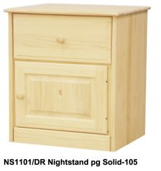 [23 Inch] Sierra 1 Drawer Nightstand LH v2
