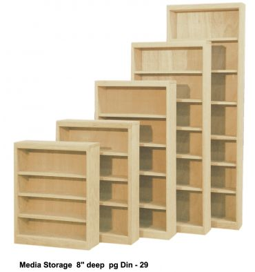 Inwood Media Storage Shelves