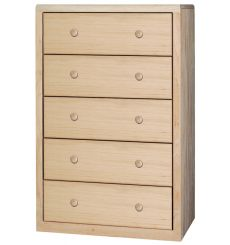 [32 Inch] Modern 5 Drawer Chest
