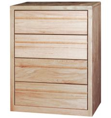 [32 Inch] Contemporary 4 Drawer Chest