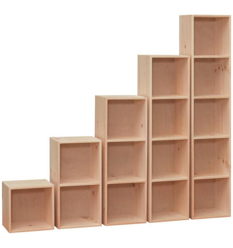 14 Inch Amish Cubes Amp Cubbys Simply Woods Furniture