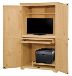 [36 Inch] Computer Armoire 433S