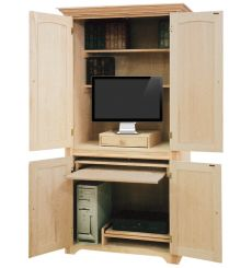 [39 Inch] Computer Armoire 3001