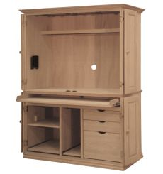 [49 Inch] Computer Armoire 3343/2PC