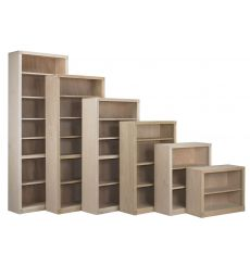 Federal (F) style bookcase waterfall - BK