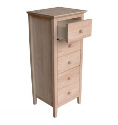 [17 Inch] Brooklyn 5 Drawer Lingerie Chest
