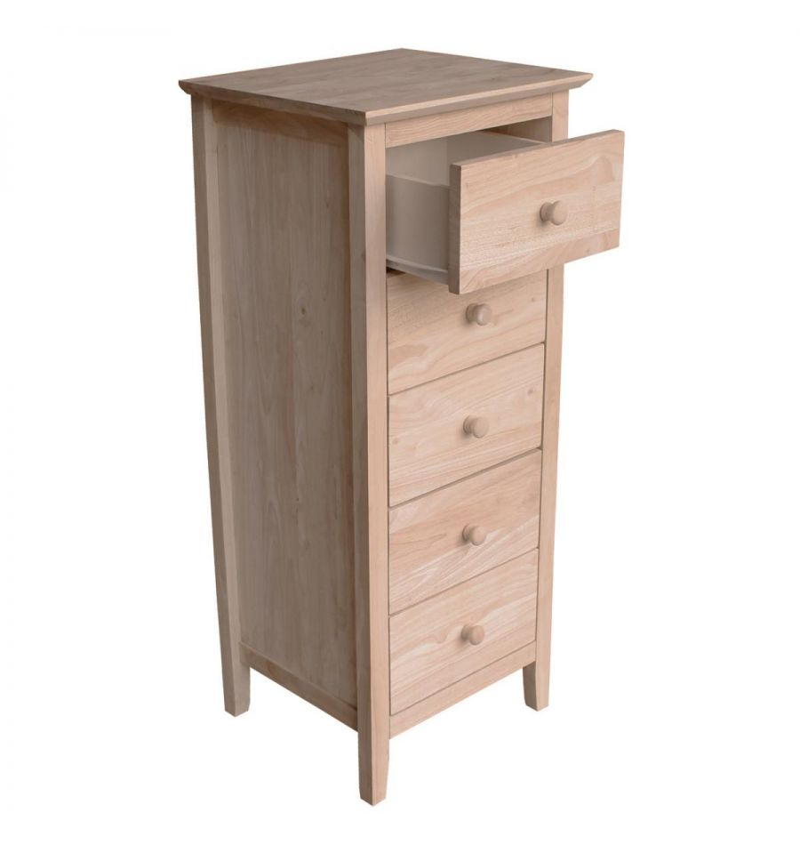 17 Inch Brooklyn 5 Dwr Lingerie Chest Simply Woods