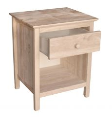 [xx Inch] Brooklyn 1 Drawer Nightstand