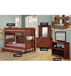 Panel Stackable Bunk Beds 4013F