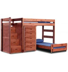 Reversible Staircase Crews Qtrs Bunk Beds 40417A