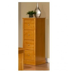 [19 Inch] Alder Shaker 4 Drawer File