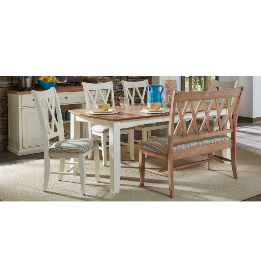 78 Inch Bow End Butterfly Dining Table