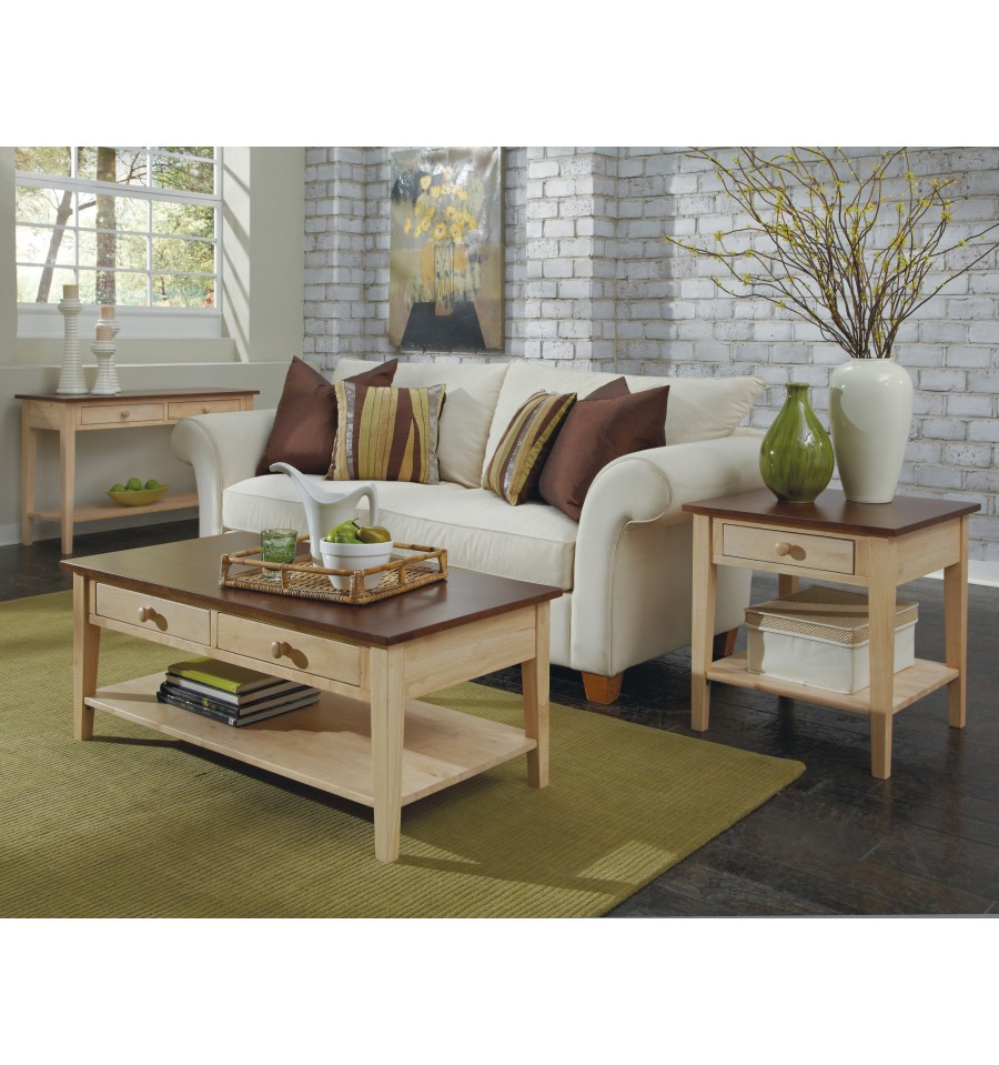 48 Inch Spencerfield Sofa Table Simply Woods Furniture