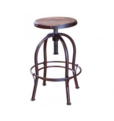 Antique Adjustable Stool