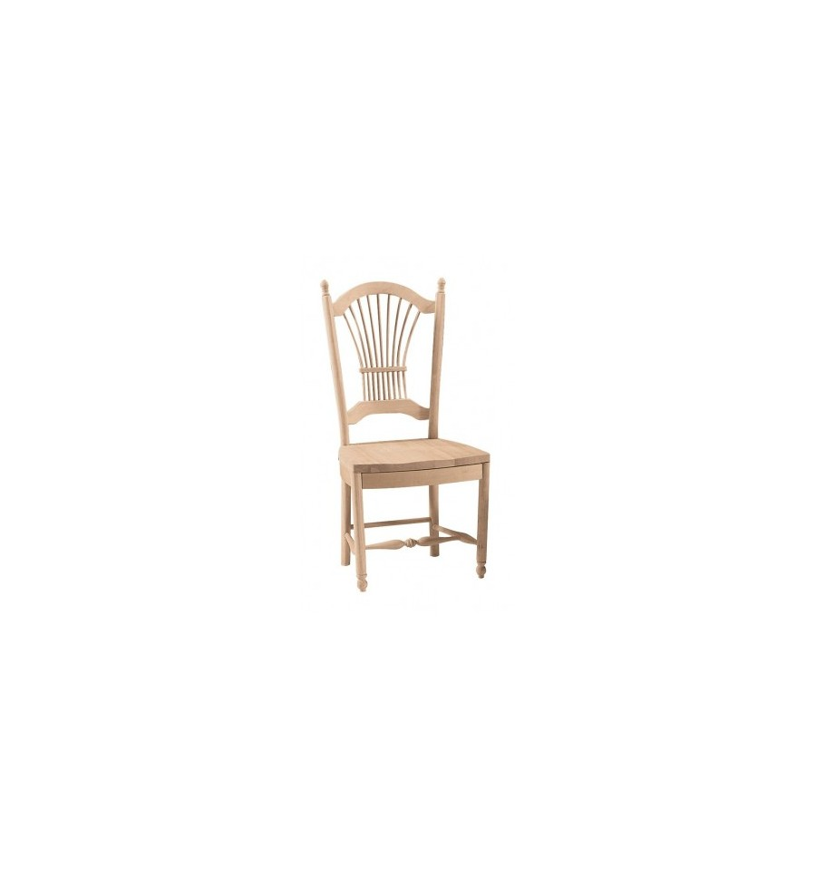 Wheat Back Side Chairs Simply Woods Furniture