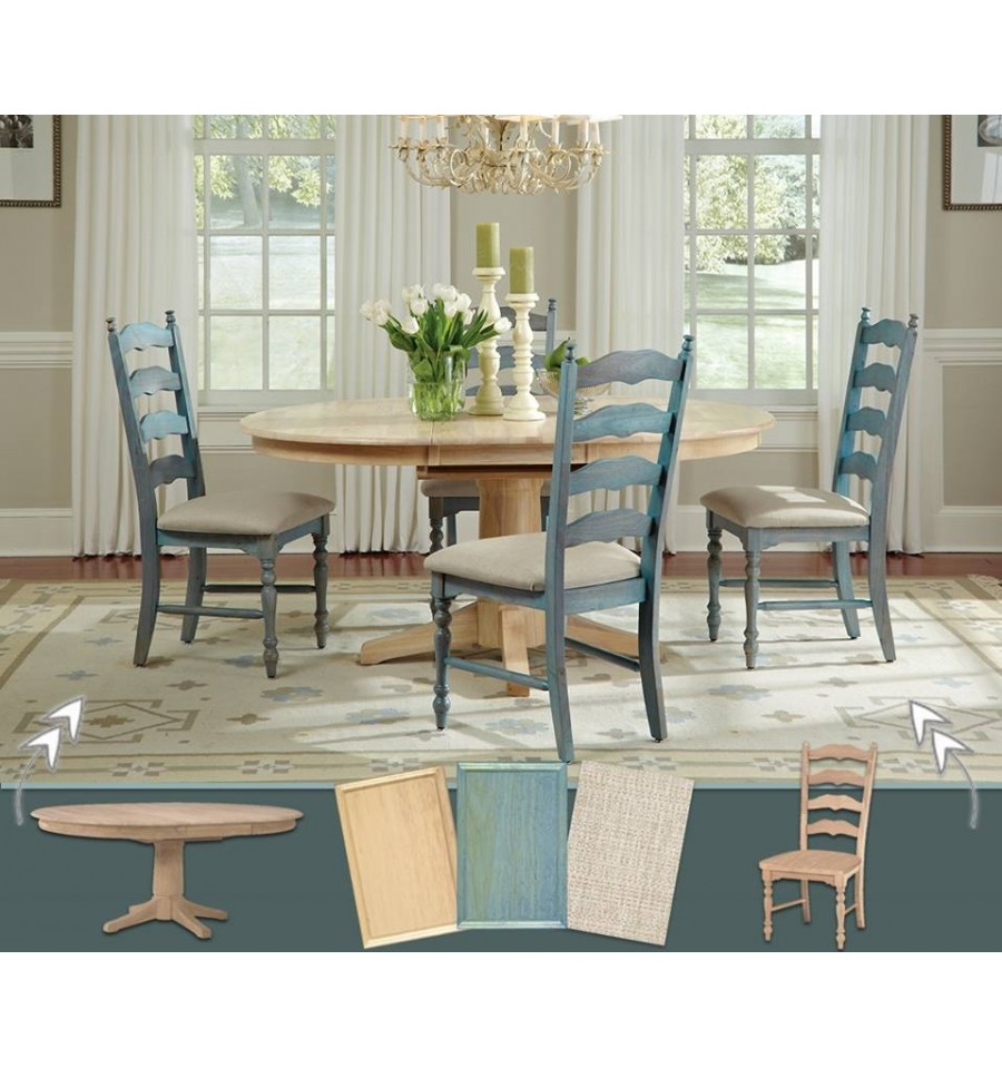 New England Ladderback Chairs; New England Ladderback Chairs