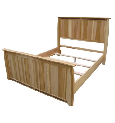 Hickory Aberdeen Panel Bed