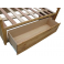 Aberdeen Hickory Storage Bed