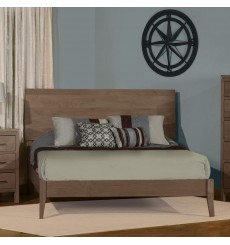 Two West Solid Alder Platform Bed