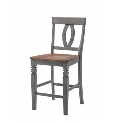 Petersburg Gathering Table Set w/ 6 Stools