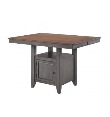 St. Pete Gathering Collection  sc 1 st  Simply Woods Furniture & St. Petersburg Gathering Table Set w/ 6 Stools - Simply Woods ...