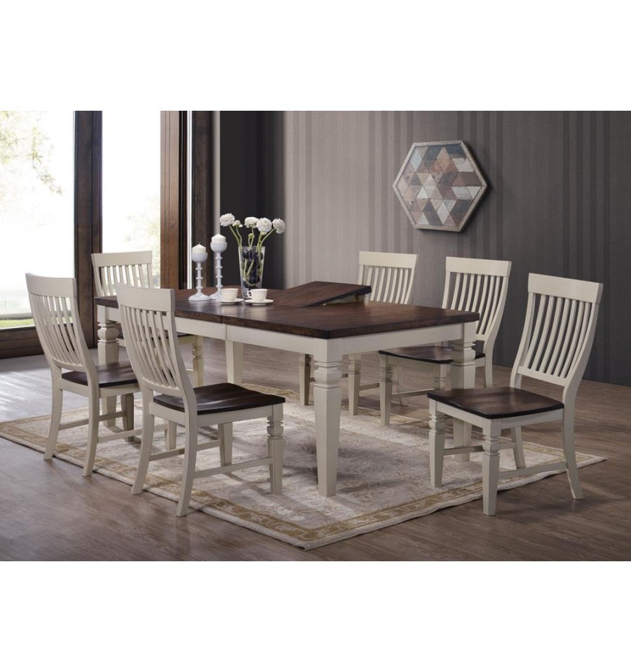 St Pete Dining Set W 6 Chairs