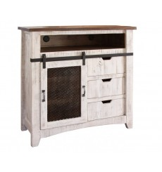 [44 inch] Pueblo Barndoor Media Chest