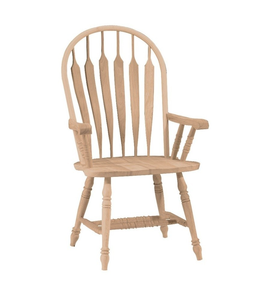Windsor Arms Apartments: Steambent Windsor Arm Chair