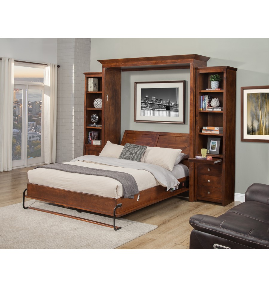 Murphy Bunk Beds: Florence Murphy Bed - Simply Woods Furniture