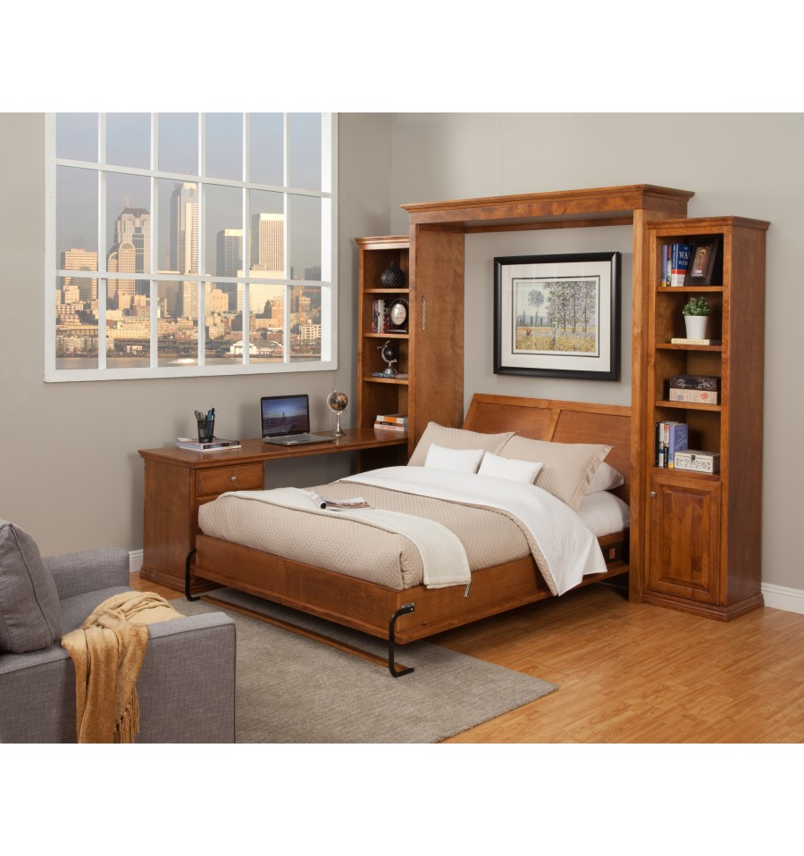 Verona Murphy Bed Office Collection Simply Woods Furniture Pensacola Fl