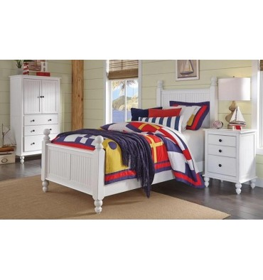 Cottage Bed (includes hdbd,ftbd, rails)