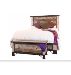 Antique Rustic Bed