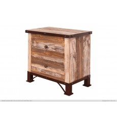 Antique Rustic Nightstand