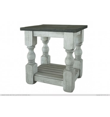 Stone Collection End Table