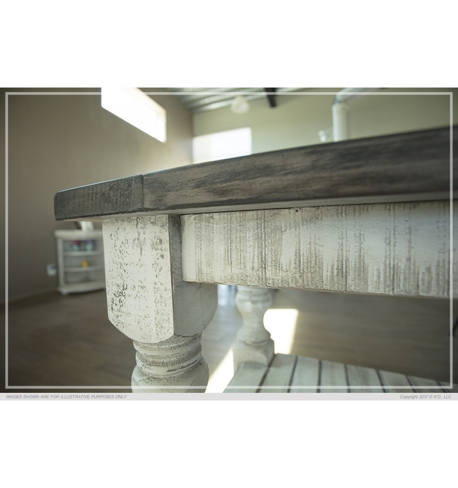 53 Inch Stone Collection Coffee Table Simply Woods