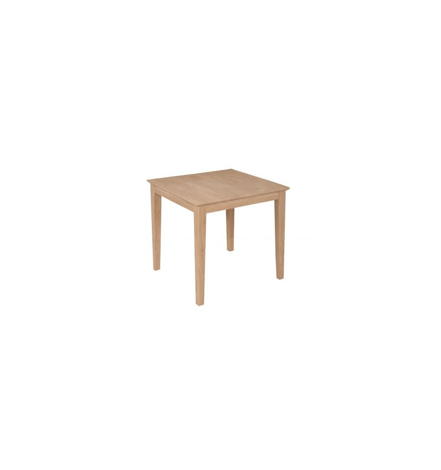 30 Inch 30x30 Square Dining Table Simply Woods