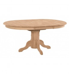 [42x54x72 inch] Pedestal Dining Table