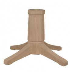 [60 inch] Solid Top Pedestal Table