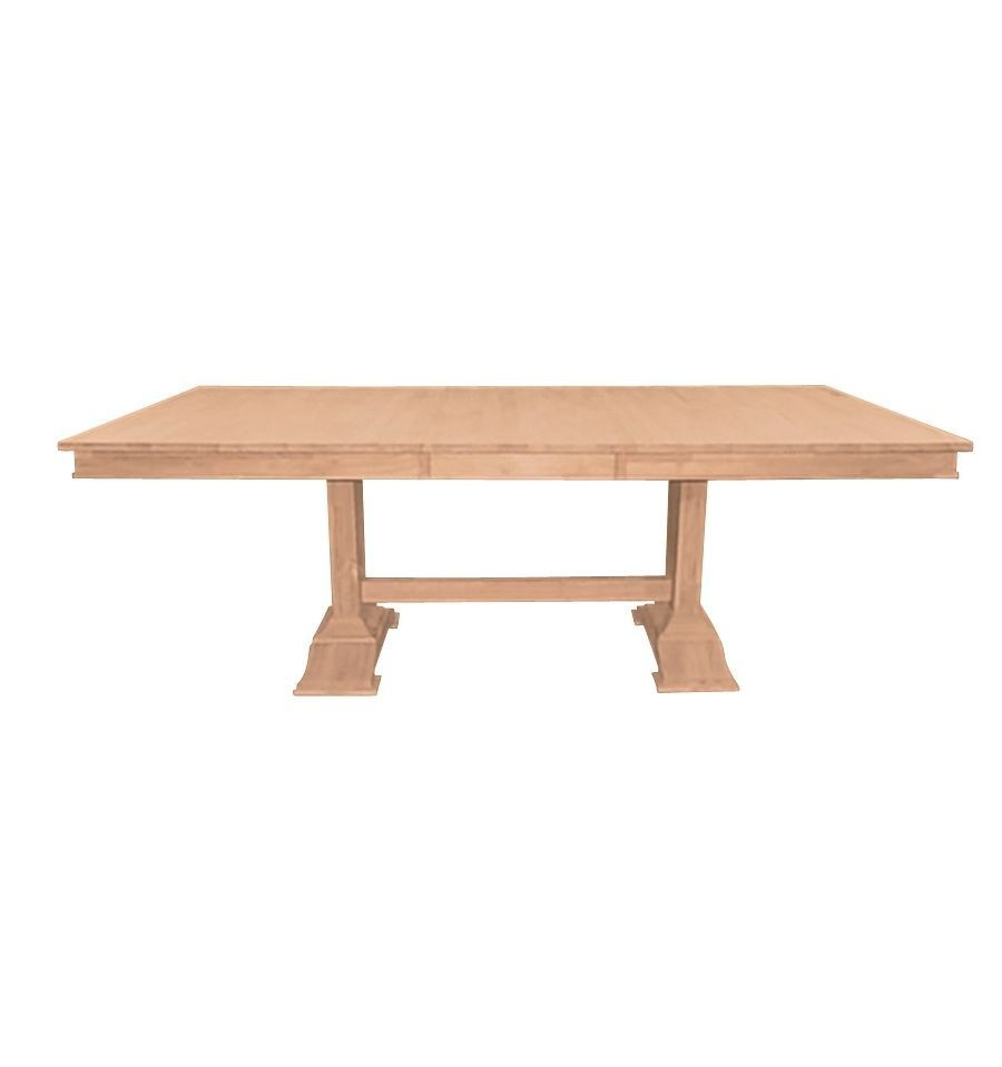 [40x66x84 Inch] Trestle Ext. Table