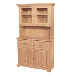2 dr. Traditional Hutch & Buffet Set