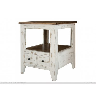 Ant. multi dwr End Table