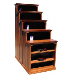 [24-48 inch] Traditional Oak Bookcases
