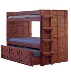 Panel Bunk Bed w/6 dwrs or Trundle