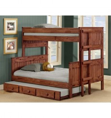Panel Stackable Bunk Twin over Full