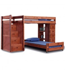 Reversible Staircase Loft Beds