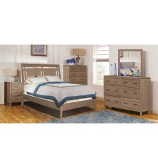 Two West Modern Panel Bed