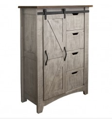 [36.5 inch] Pueblo Sliding Barndoor Chest
